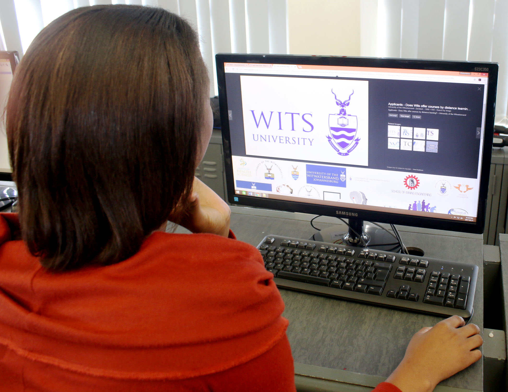 Paper still possible in Wits applications process