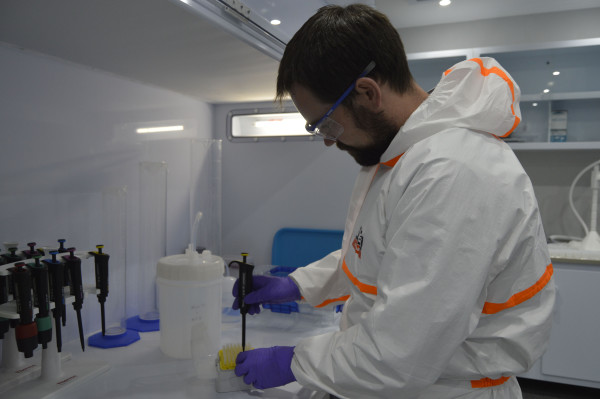 CHEMICALLY INVOLVED: Isotape Geosciences lab has opened up advance scientific research. Photo: Nomvelo Chalumbira