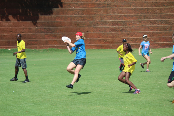 Wits ultimate Frisbee team anticipate participating in the national championships next weekend.  Photo: Caroline Tobin