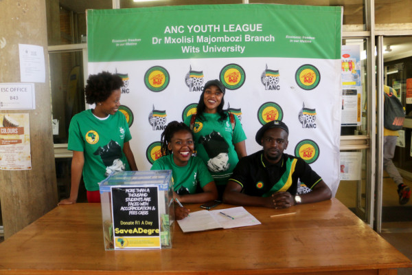 SASCO members overjoyed as they aim to help students Photo ; Zamayirha Peter