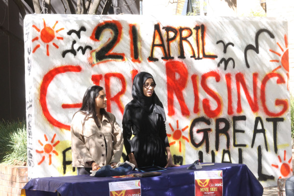 GIRL POWER: GirlRising hosted by Wits' Golden Key International Honour Society. Photo: Juwairiyyah Jeena