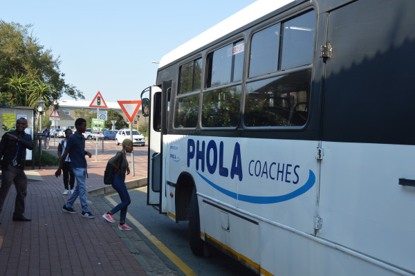 BUS DRIVER WOES: Not such a smooth ride for Wits bus drivers following alleged lock changes and eviction threats.  Photo: Ntando Thukwana