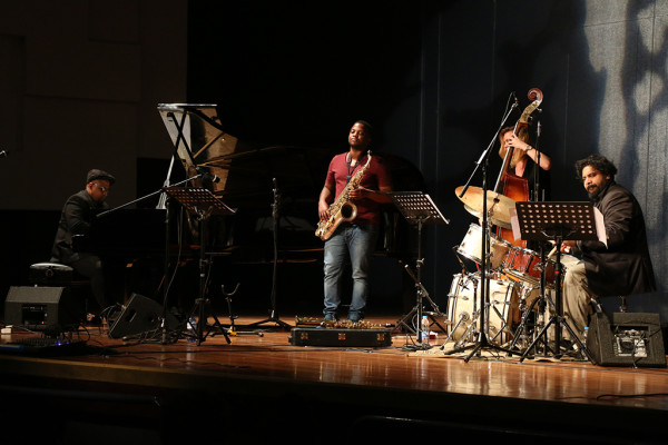 The Andre Petersen Quartet concert at the Wits Great Hall