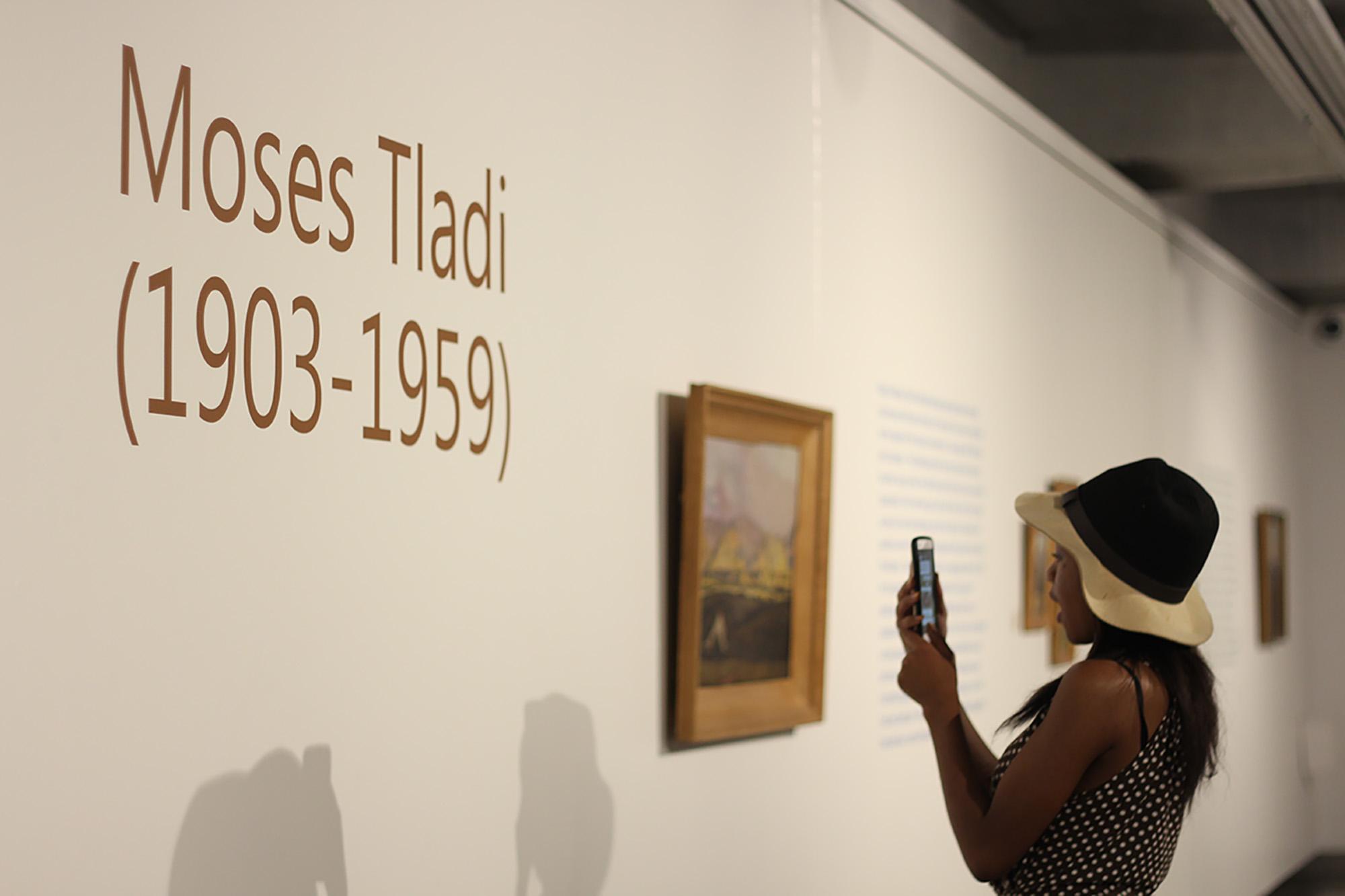 A special exhibition: Moses Tladi (1903-1959)