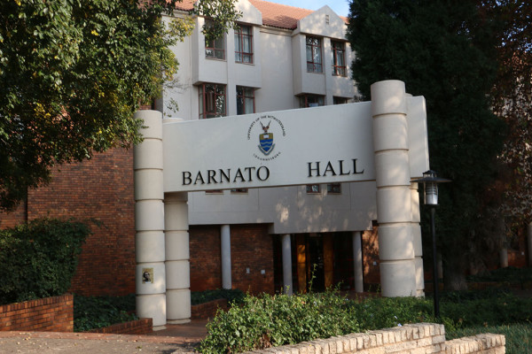 Barnato Hall of Residence Photo Nonkululeko Njilo