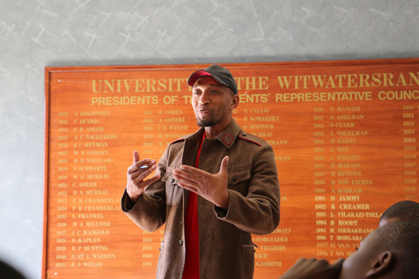 Alex Mdakane, Gauteng provincial secretary for the YCL, talks about strengthening their relationship with Wits workers.