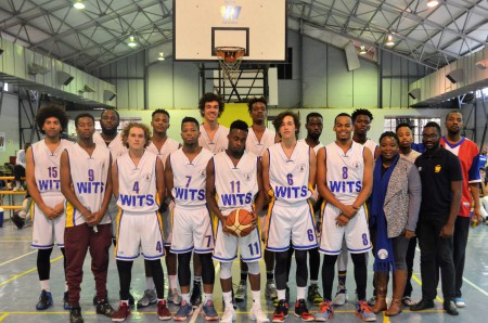 COMPETING WITH THE BEST: The Wits Hony Bucks at the Ashraf Lodoweyk Tournament    Photo: Provided