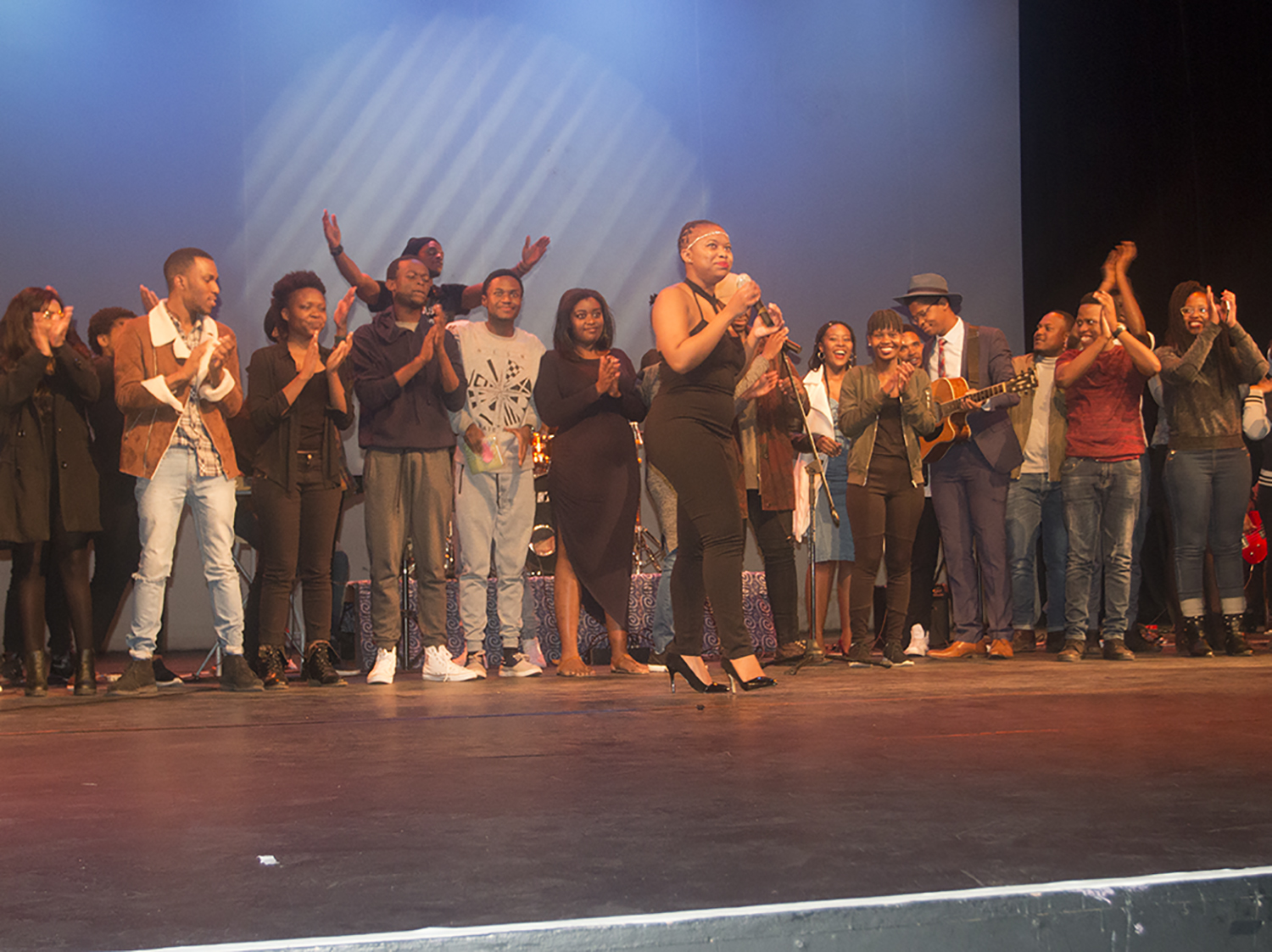 MUSOC Society uses art to tell the message of transformation at the Wits Theatre