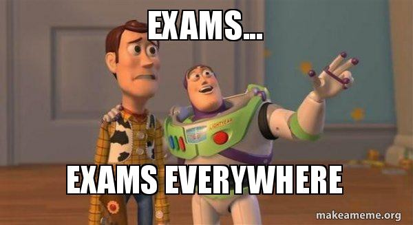 exams-exams-everywhere-591c7d