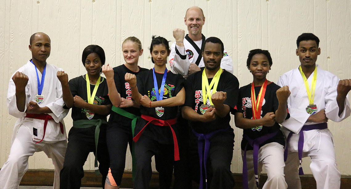 Wits martial arts scoop 17 medals in national tournament