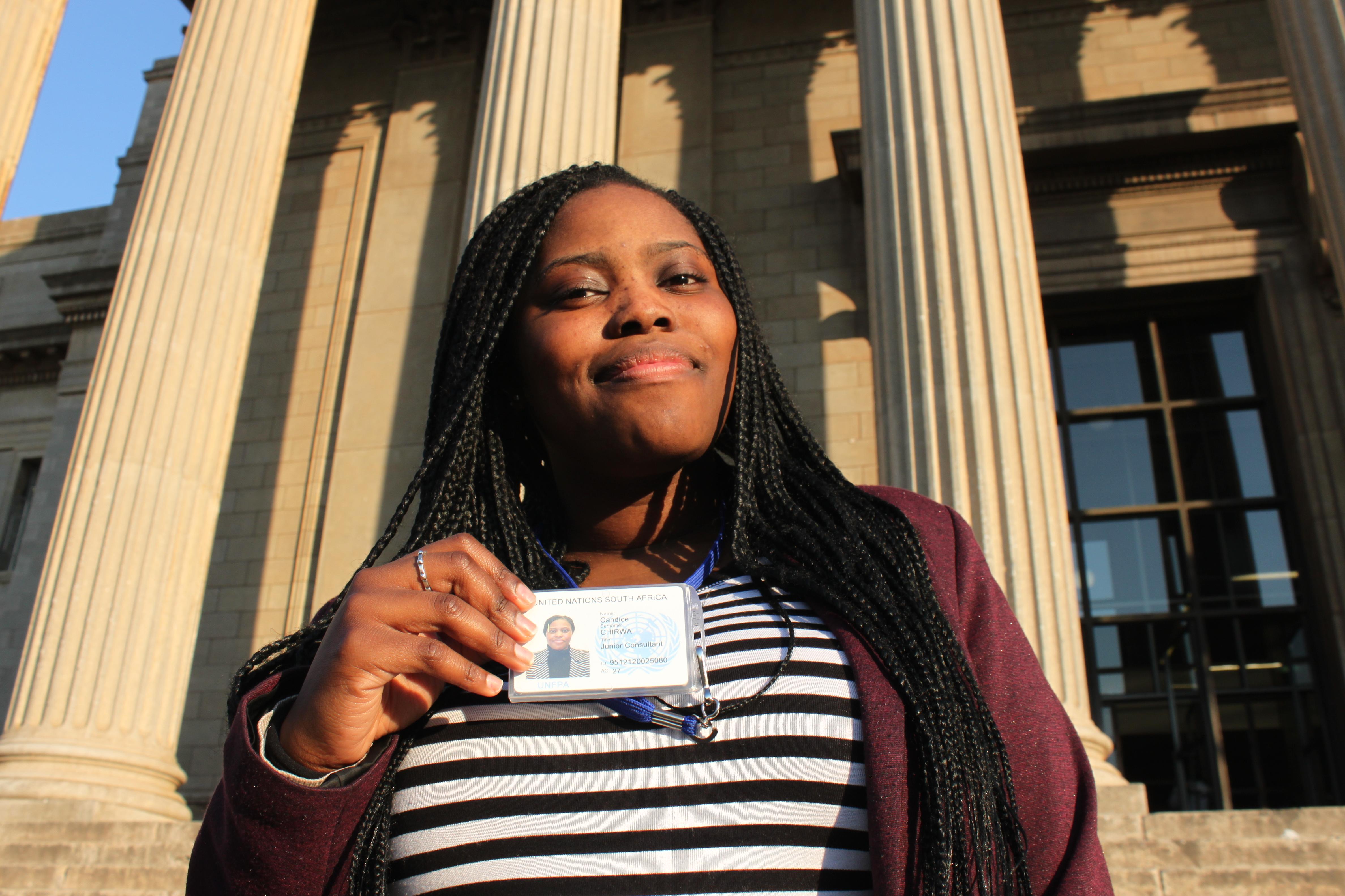 Cool kid on campus: Candice Chirwa
