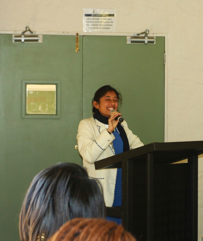 Parktown Head girl leads at SRC luncheon