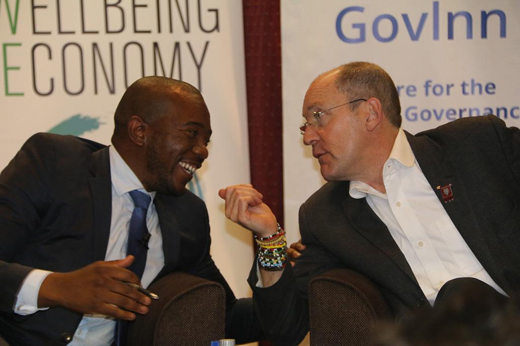 Apartheid still has a hold on SA's economy – Maimane