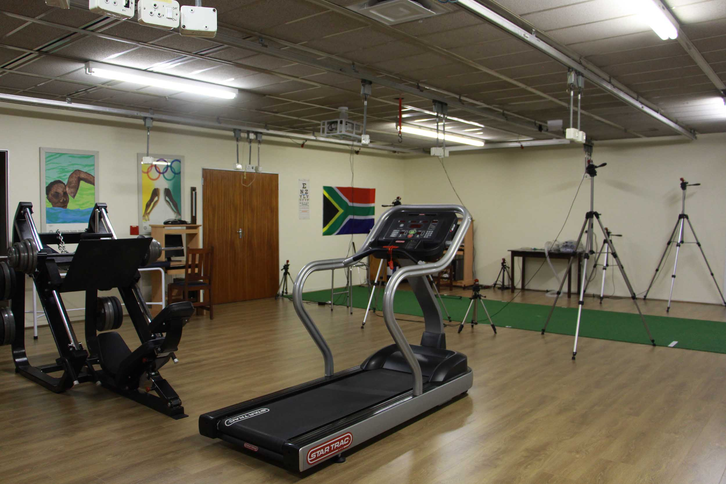 Sports lab gets a makeover