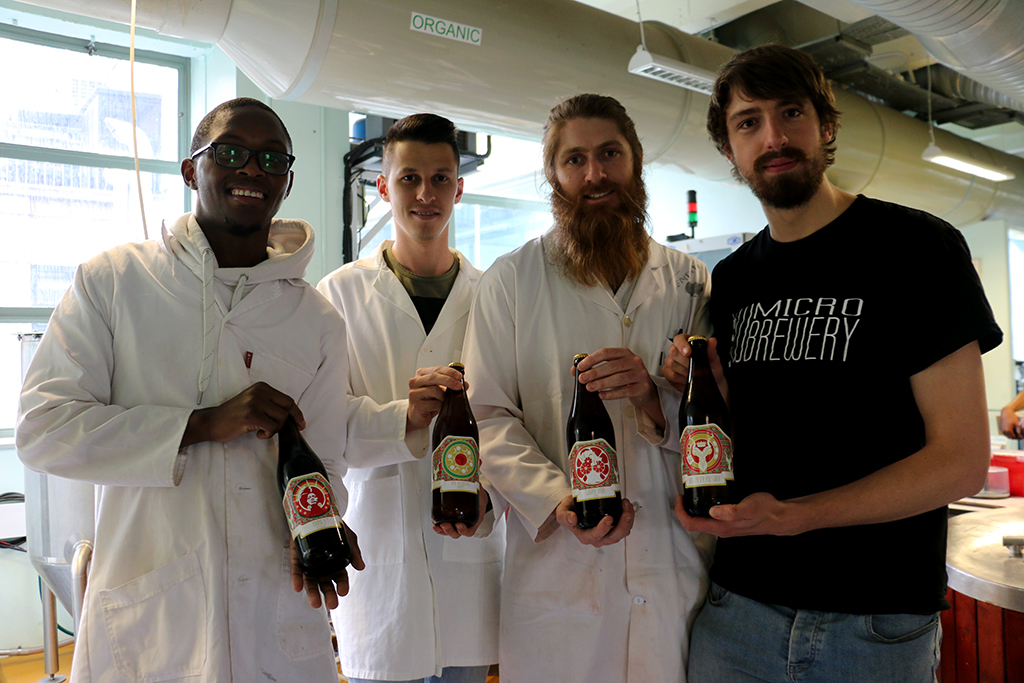 Bottoms up to award-winning Witsie beer