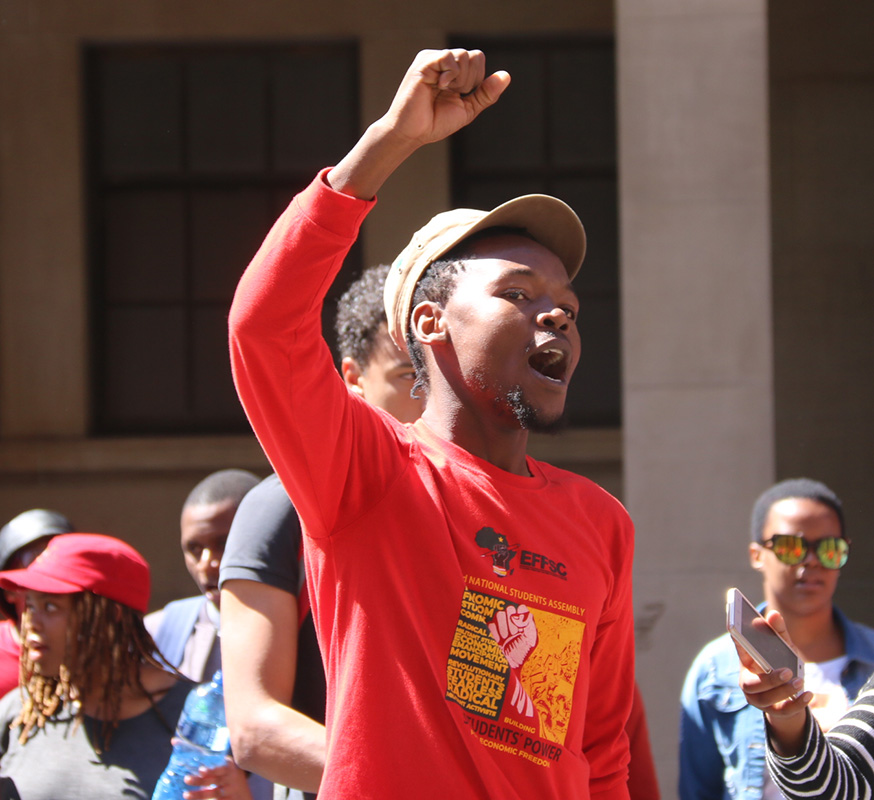 Gauteng is looking for solutions to student housing crisis, protestors told