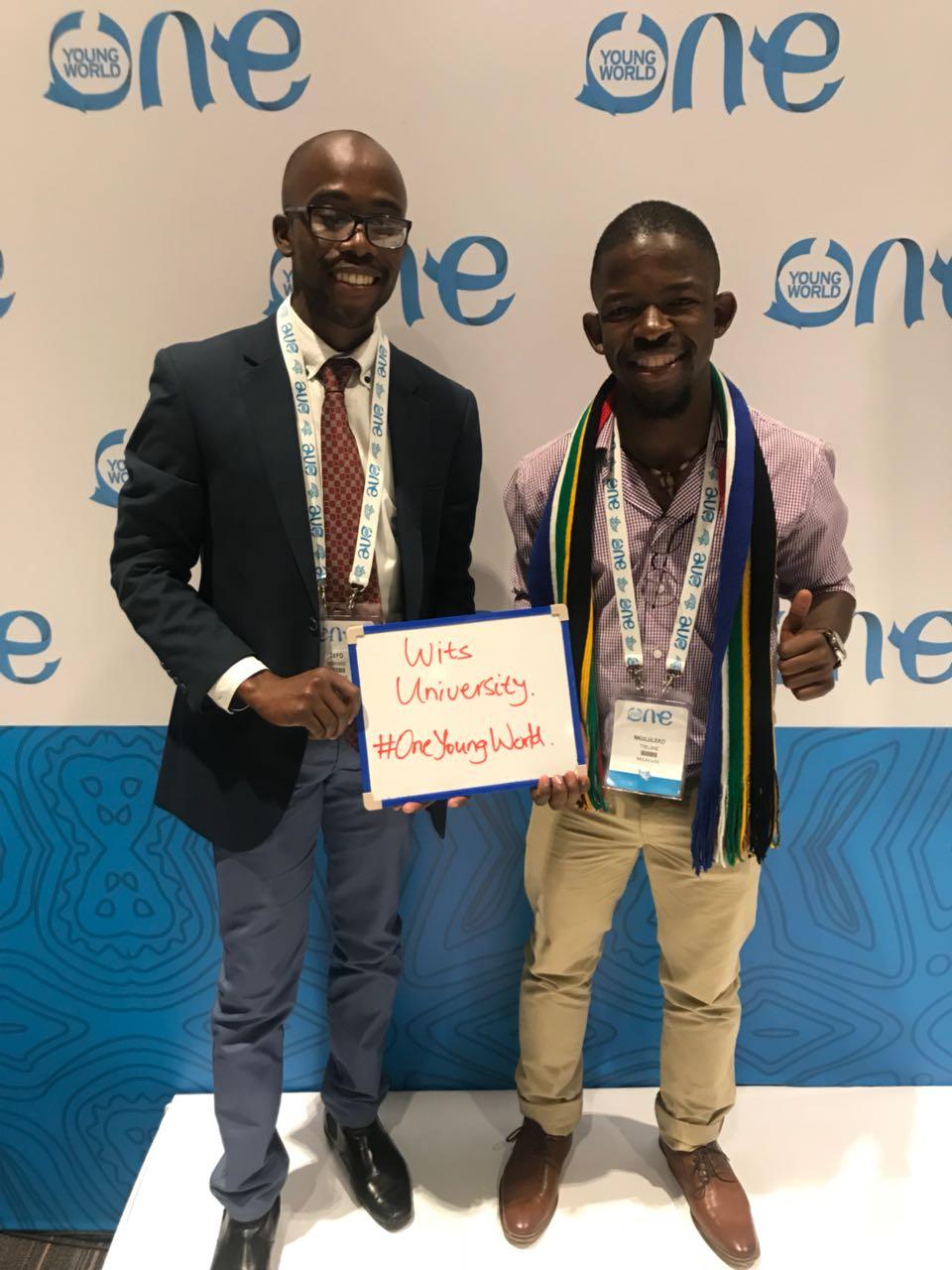Witsie's shine at global summit