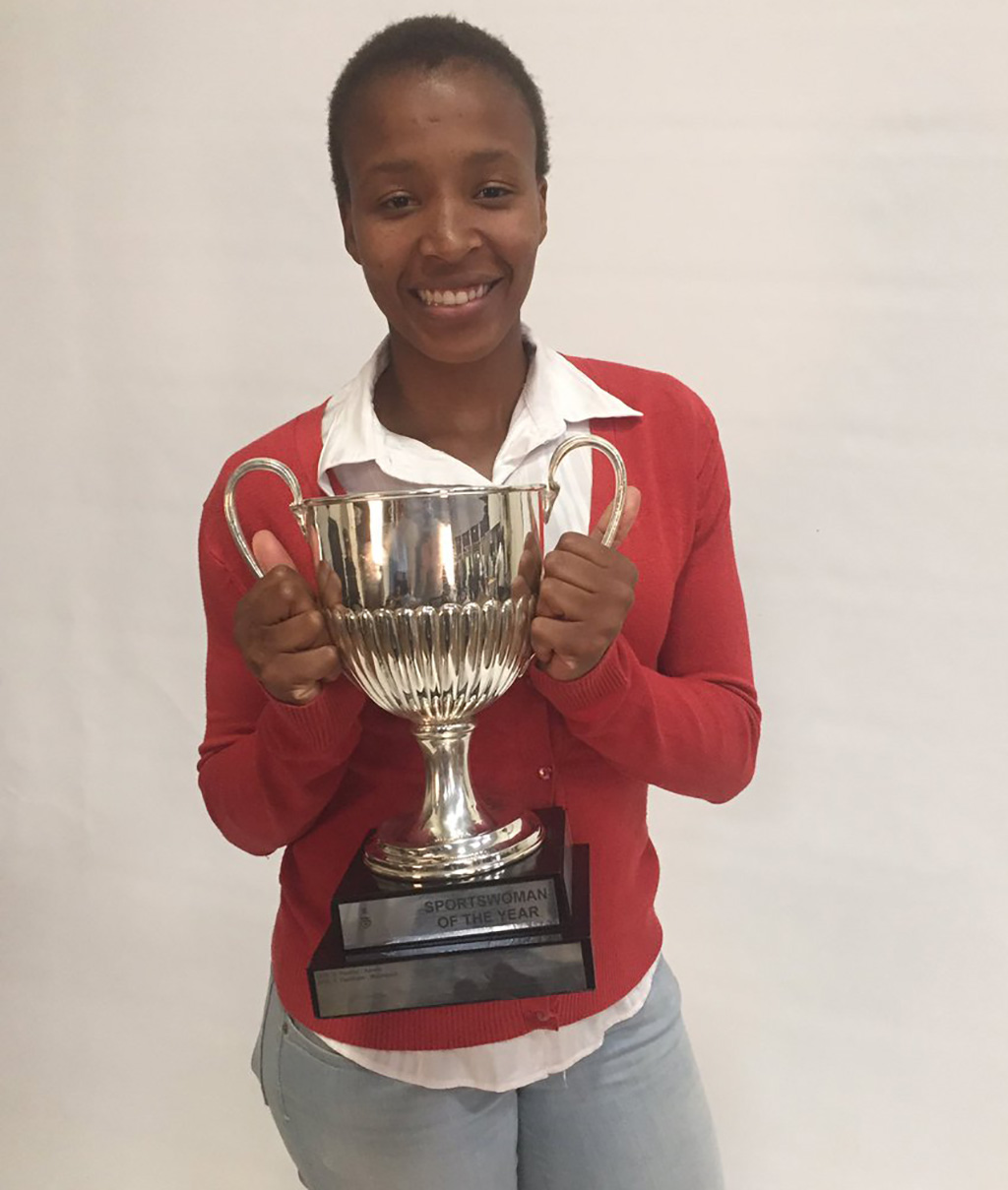 Female basketballer wins big at Wits Sports Awards