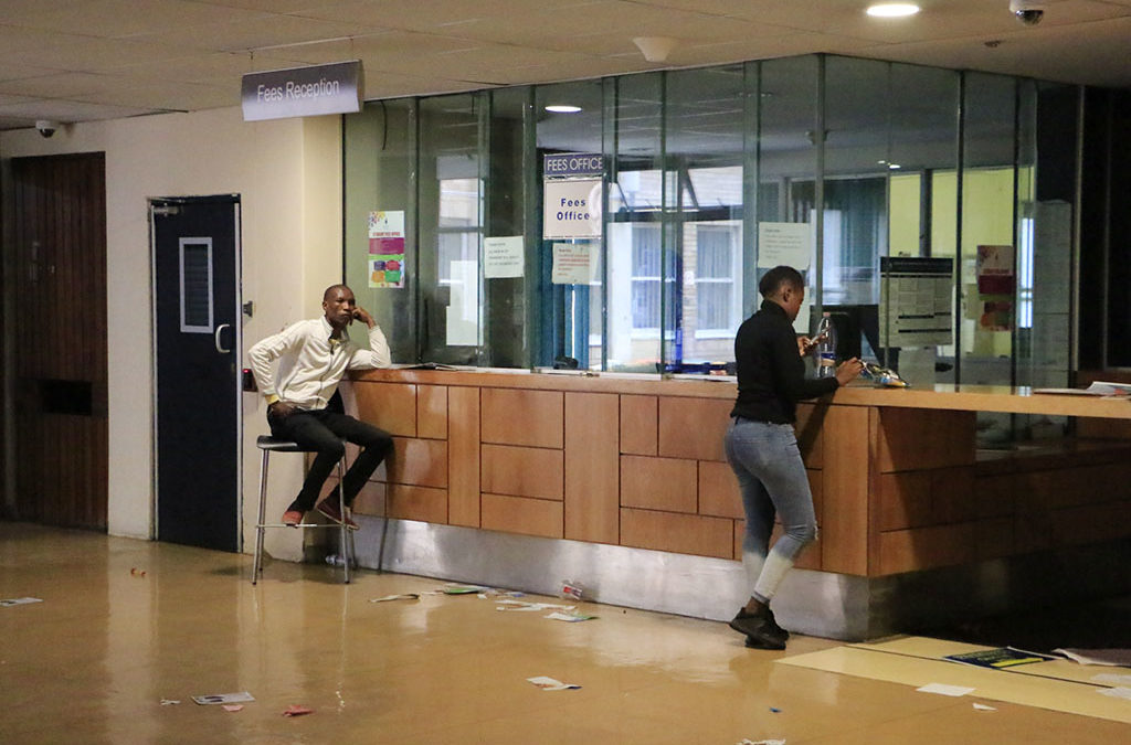 Wits SRC shuts down Fees Office over financial exclusions