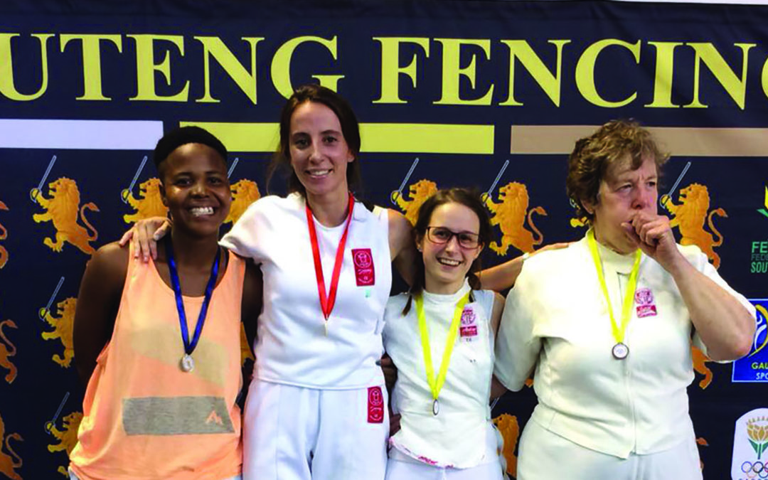 Witsies in fencing medal glory