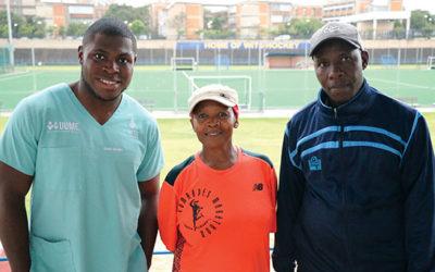 Athletics club initiative keeps kids off the street