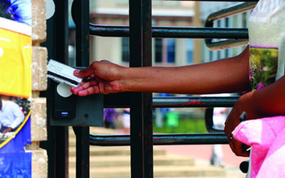 Wits to install new fingerprint scanners