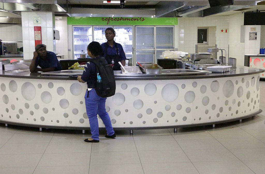 Dining hall meal sizes shrink but prices remain flat