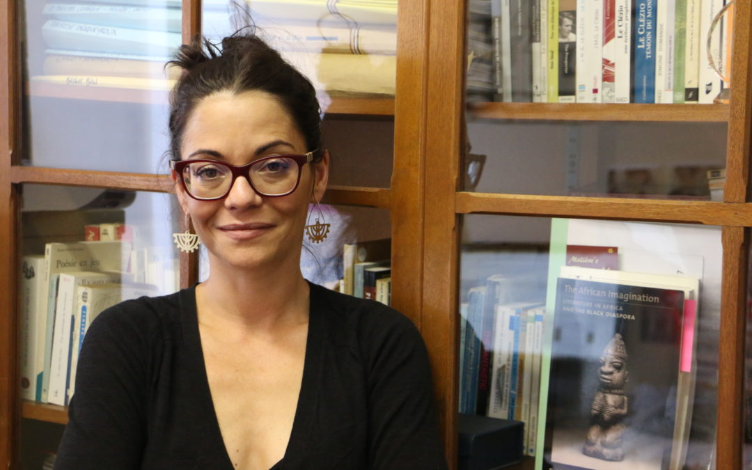 Lecturer  honoured by French government.