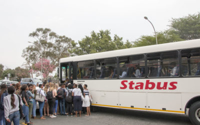 Student Digz gets new Hillbrow bus stop
