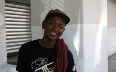 Young people reach out to the Braamfontein homeless community