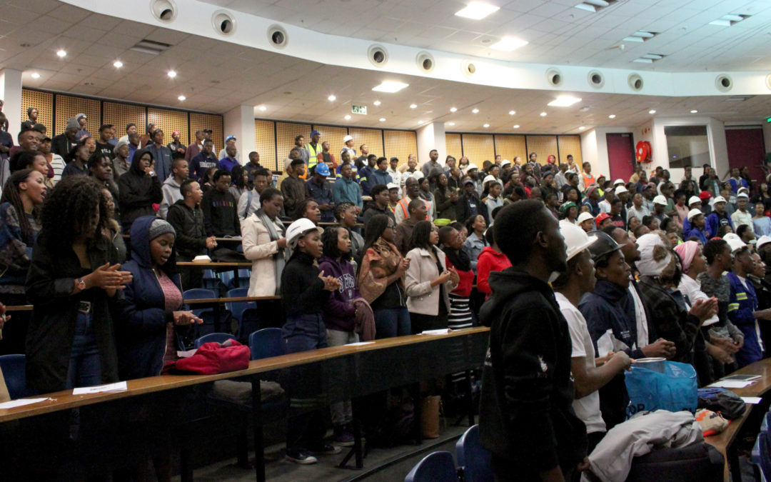 Sanele Dhlamini mourned at Wits memorial