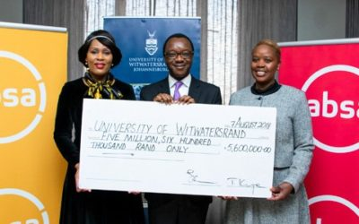 Local bank boosts Wits bucks