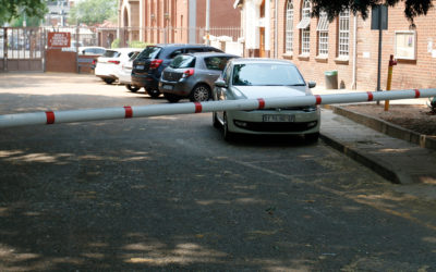 First-year parking becomes more secure with booms