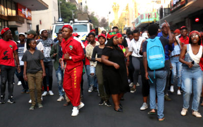 Students strike over South Point's rumored 15% rent hike