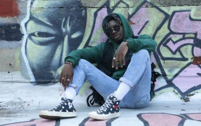Cool kid: Addai-yaw 'Yaw Majesty' Coker