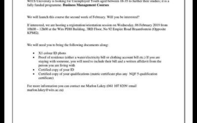 No room for hundreds of applicants for Wits Enterprise business course