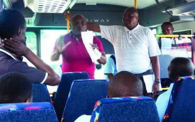 Wits bus drivers reject schedule changes