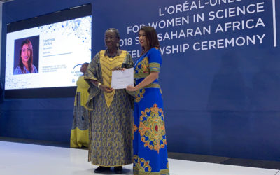 Two Wits students win women's science fellowship