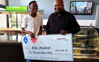 R10000 Chicken Spinner Winner left overwhelmed