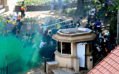 Private security 'acted illegally in #FeesMustFall protests'