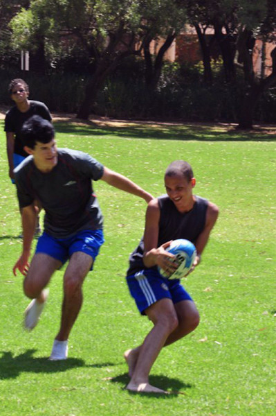 QUEER AS FUN: Wham! members enjoy a day of social rugby at Wits.     Photo: Provided