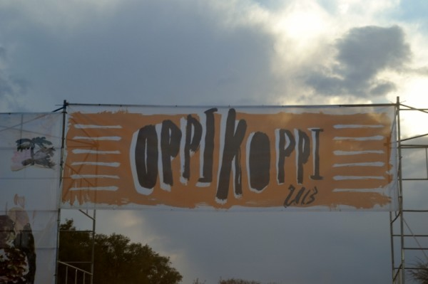 ENTER HERE: Oppikoppi 2013. Photo: Shandukani Mulaudzi