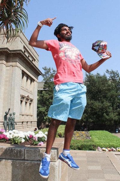 WINNING: Progressive Youth Alliance member Shafee Verachia got the most votes in the SRC elections this year.    Photo: Mia Swart