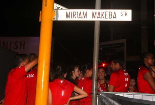 Runners waiting at the start Photo:  Nokuthula Manyathi