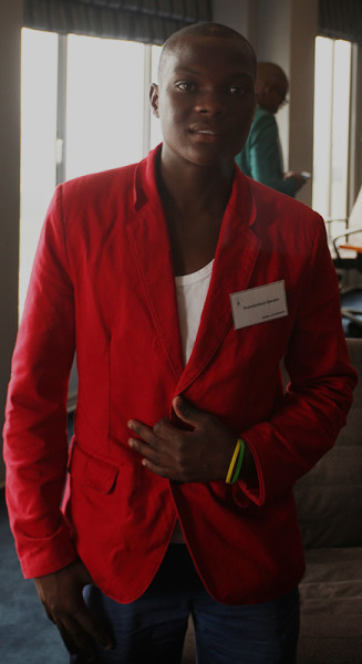 Going Up: Top achiever Thembinkosi Qwabe will study Chemical Engineering  after receiving an Equality Scholarship Photo: Mfuneko Toyana