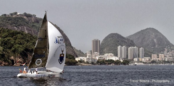 The Wits Amtec Aladdin arriving in Rio. Photo: Provided