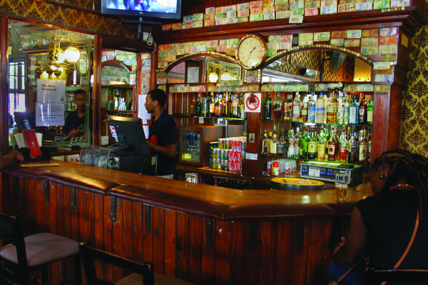 LOCAL HANGOUT: Kitchener's Carvery Bar at the corner of De Beer and Juta street is an old English style pub with a modern edge, within walking distance from Wits. Photo: Caro Malherbe