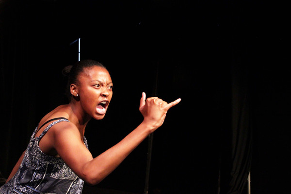 Come Duze: Mbali Malinga portrays the sexual violence inflicted on a young girl by a township thug Photo: Provided