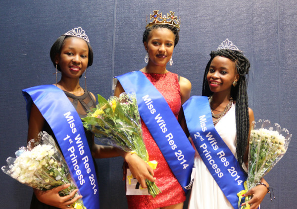 The Top 3: From left to right- Vuyolwethu Majila, Mandisa Dlamini and Siphindile Gumede.