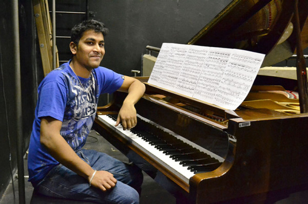 MUSIC AND LYRICS: Ritesh Ajoodha's research on using Darwin's Theory of Evolution to compose music will be published in IGI Global's Encyclopaedia of Information Science and Technology. Photo: Lameez Omarjee